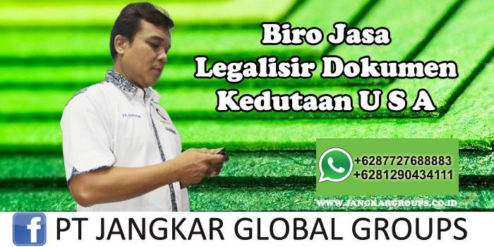 Biro Jasa Legalisir Dokumen Kedutaan Amerika