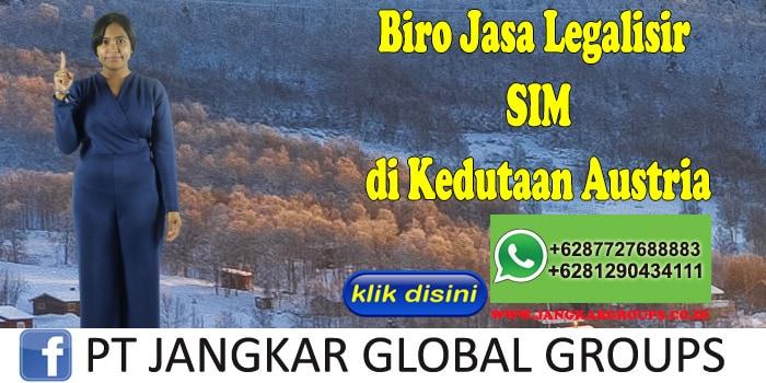 Biro Jasa Legalisir SIM di Kedutaan Austria