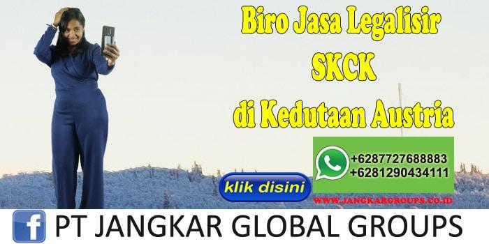 Biro Jasa Legalisir SKCK di Kedutaan Austria