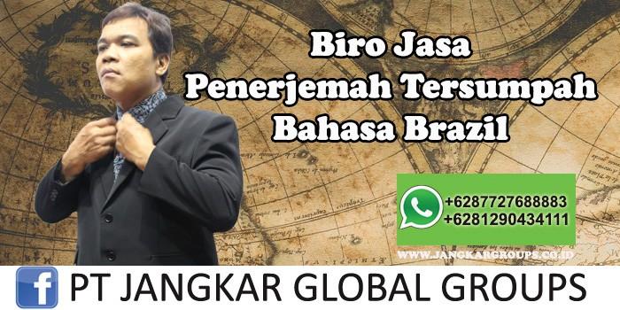 Biro Jasa Penerjemah Tersumpah Bahasa Brazil