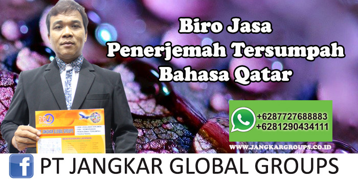 Biro Jasa Penerjemah Tersumpah Bahasa Qatar