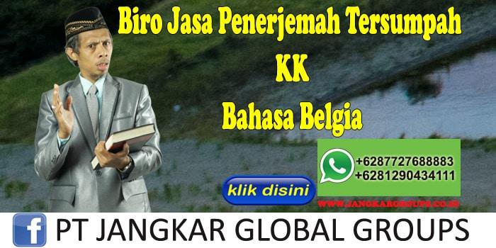 Biro Jasa Penerjemah Tersumpah KK Bahasa Belgia