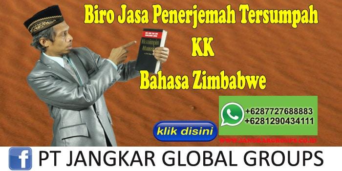 Biro Jasa Penerjemah Tersumpah KK Bahasa Zimbabwe