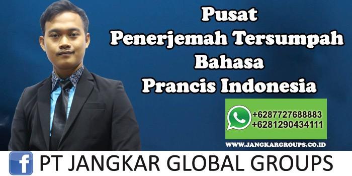 Pusat Penerjemah Tersumpah Bahasa Prancis Indonesia
