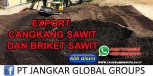 EXPORT CANGKANG SAWIT DAN BRIKET SAWIT