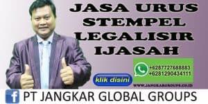 JASA URUS STEMPEL LEGALISIR IJASAH