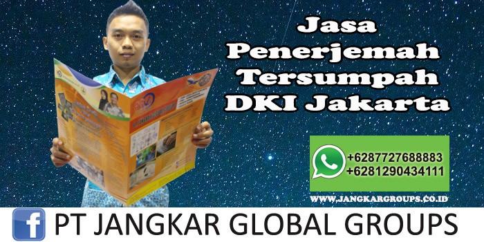Jasa Penerjemah Tersumpah DKI Jakarta