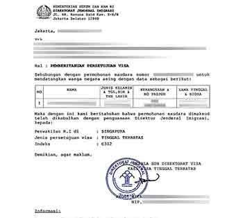 Telex-Visa-Kerja