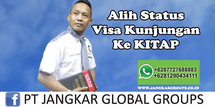 Alih status visa kunjungan ke KITAP