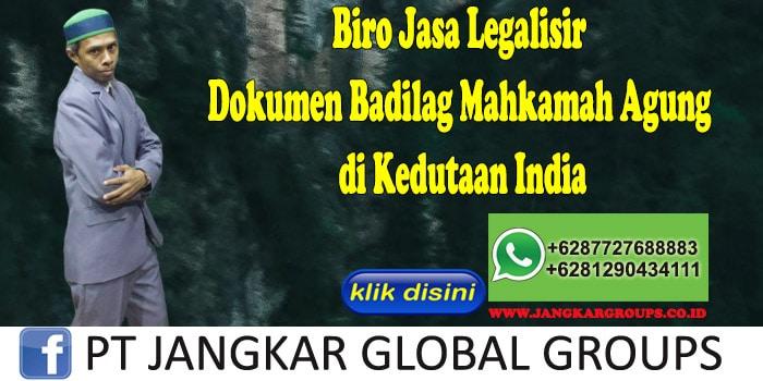 Biro Jasa Legalisir Dokumen Badilag Mahkamah Agung di Kedutaan India