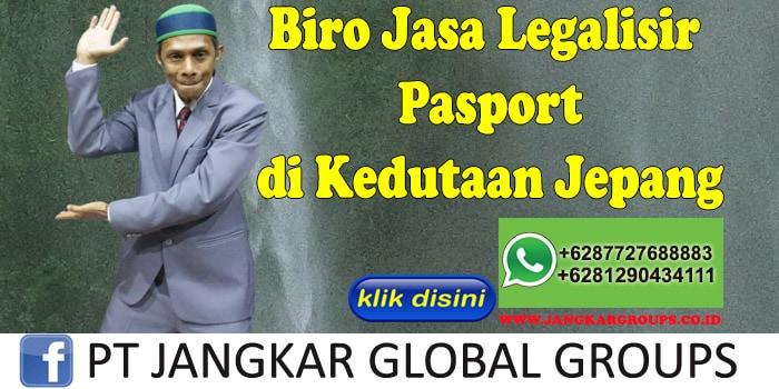 Biro Jasa Legalisir Pasport di Kedutaan Jepang