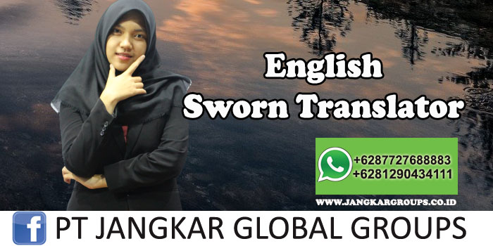 English Sworn Translator