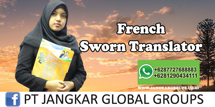 French Sworn Translator