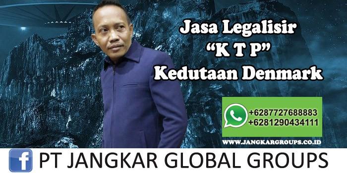 Jasa Legalisir KTP Kedutaan Denmark