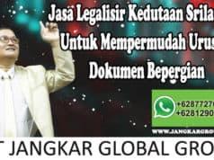 Jasa Legalisir Kedutaan Srilangka