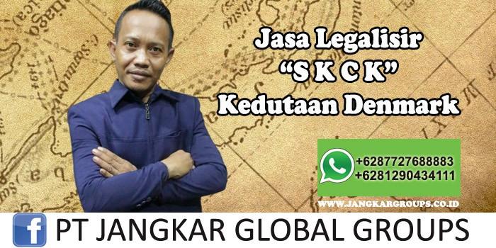 Jasa Legalisir SKCK Kedutaan Denmark