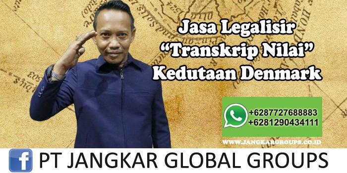 Jasa Legalisir Transkrip Nilai Kedutaan Denmark