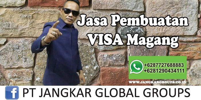 Jasa Pembuatan visa magang