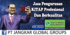 Jasa Pembuatan KITAP Profesional Dan Berkualitas