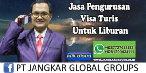 Jasa Pengurusan Visa Turis Untuk Liburan