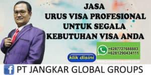 Jasa Urus Visa Profesional Untuk Segala Kebutuhan Visa Anda