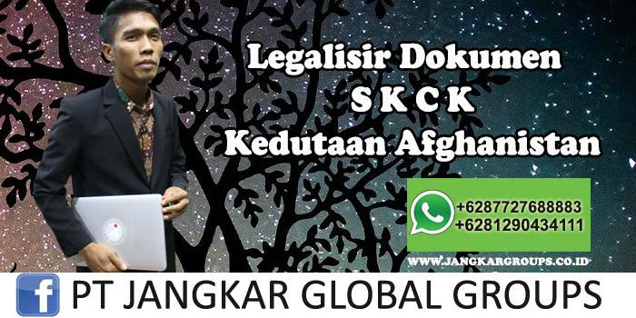 Kedutaan Afghanistan Urus Legalisir SKCK