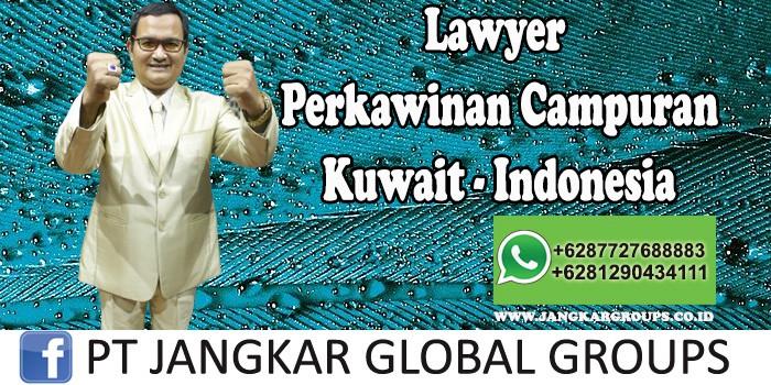 Lawyer Perkawinan Campuran Kuwait Indonesia