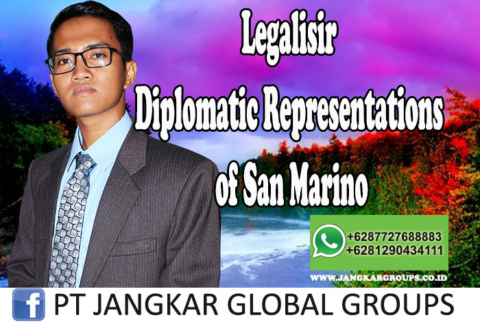 Jasa Legalisir Diplomatic Representations of San Marino, Legalisir Dokumen Pribadi Tanpa Masalah