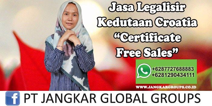 Legalisir Kedutaan Croatia Certificate Free Sales