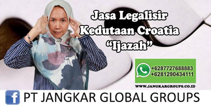Legalisir Kedutaan Croatia Ijazah