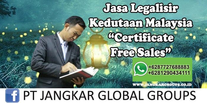 Legalisir Kedutaan Malaysia Certificate Free Sales