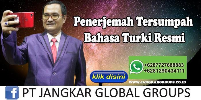 Penerjemah Tersumpah Bahasa Turki Resmi dan legal