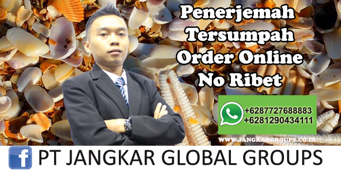 Penerjemah Tersumpah Order Online No Ribet
