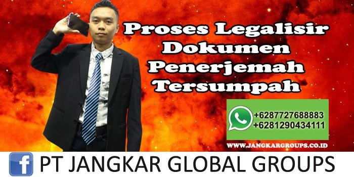 Proses Legalisir Dokumen Penerjemah Tersumpah