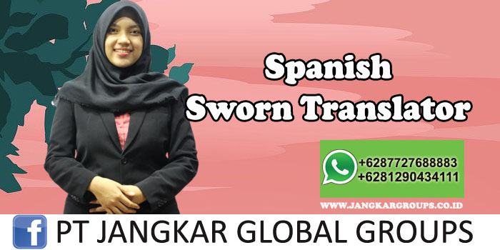 Spanish Sworn Translator