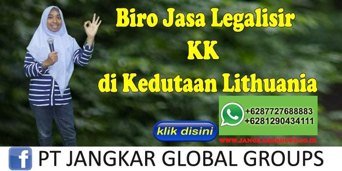Biro Jasa Legalisir KK di Kedutaan Lithuania