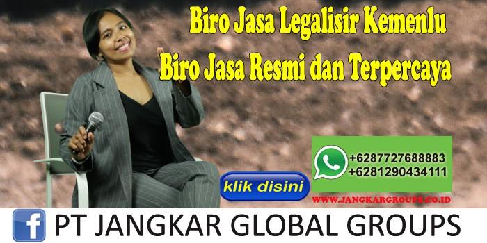 Biro Jasa Legalisir Kemenlu Biro Jasa Resmi dan Terpercaya