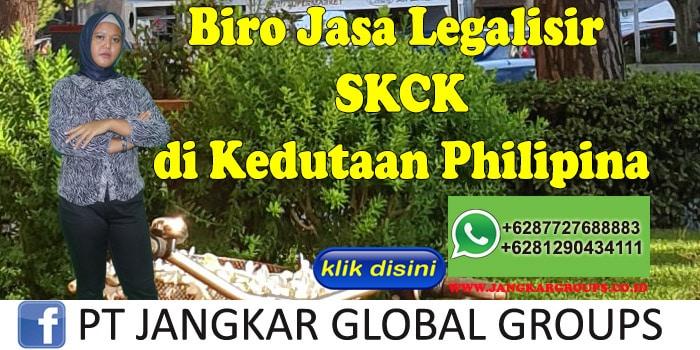 Biro Jasa Legalisir SKCK di Kedutaan Philipina