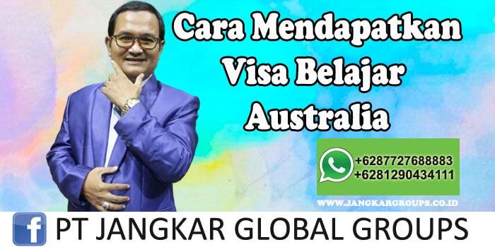 Cara Mendapatkan Visa Belajar Australia