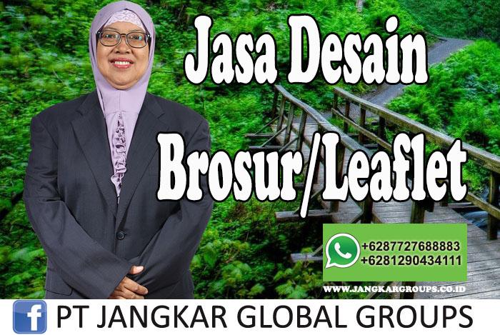 Jasa Desain Brosur Leaflet