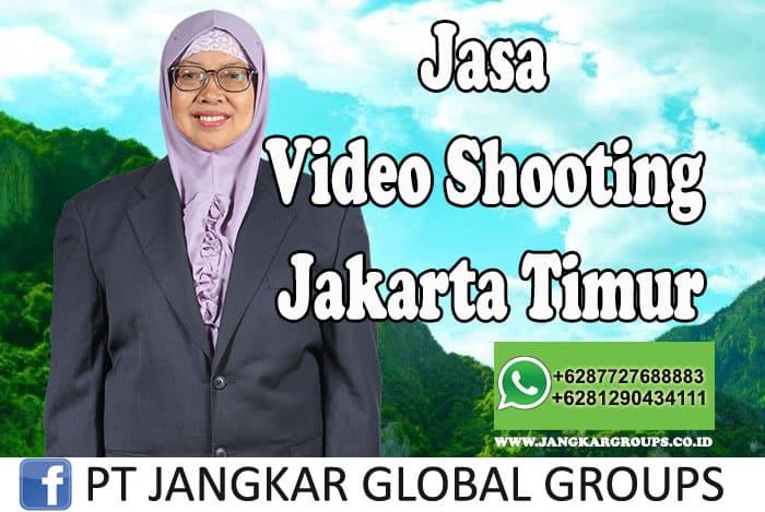 Jasa Video Shooting Jakarta Timur