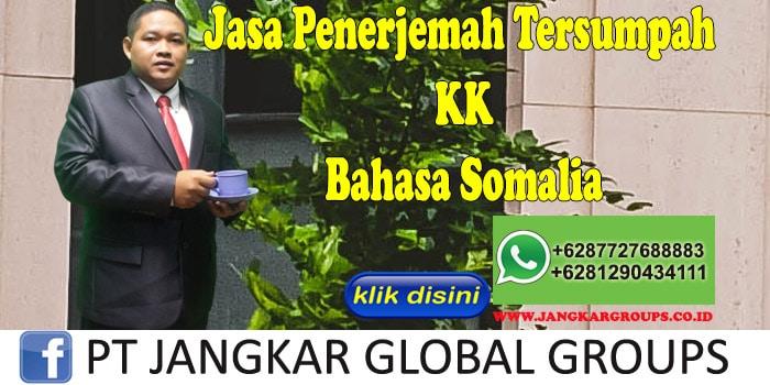 Jasa penerjemah tersumpah KK bahasa somalia