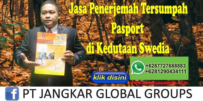 Jasa penerjemah tersumpah pasport di kedutaan swedia