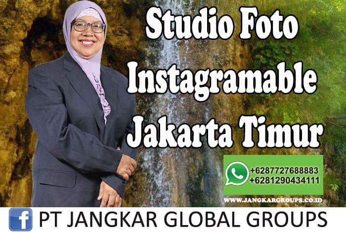 Studio Foto Instagramable Jakarta Timur