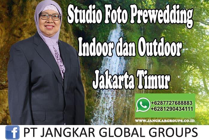 Studio Foto Prewedding Indoor dan Outdoor Jakarta Timur
