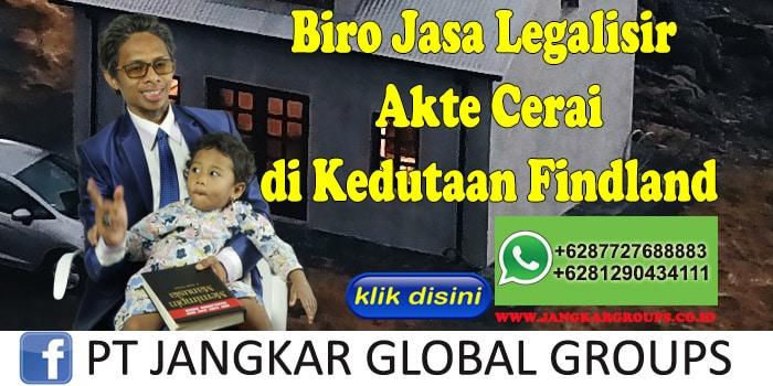 Biro Jasa Legalisir Akte Cerai di Kedutaan Findland