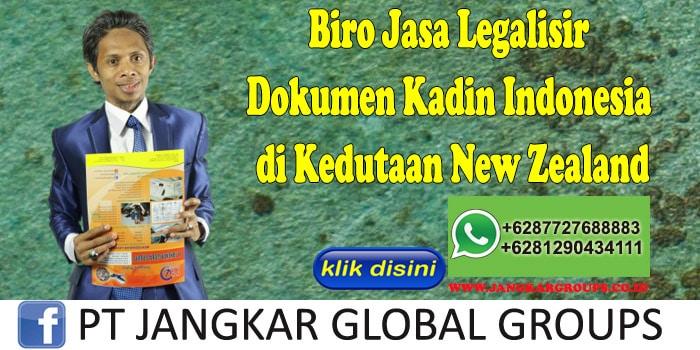 Biro Jasa Legalisir Dokumen Kadin Indonesia di Kedutaan New Zealand
