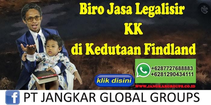 Biro Jasa Legalisir KK di Kedutaan Findland