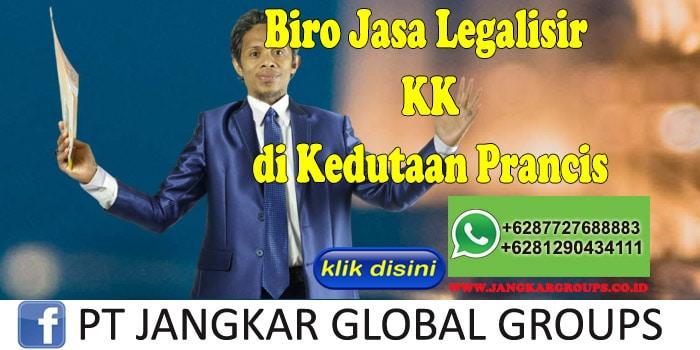 Biro Jasa Legalisir KK di Kedutaan Prancis