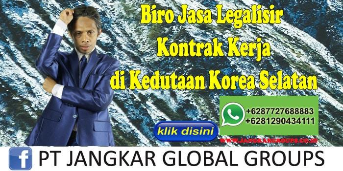 Biro Jasa Legalisir Kontrak Kerja di Kedutaan Korea Selatan